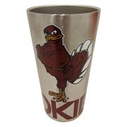 Virginia Tech Stainless Steel Pint Tumbler