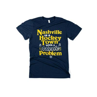 Nashville Hockey Town Tee Shirt