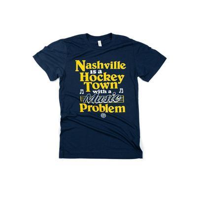 Nashville Hockey Town Tee Shirt