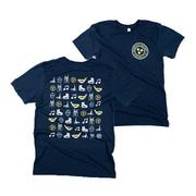 Nashville Project 615 Hockey Icons Tee Shirt