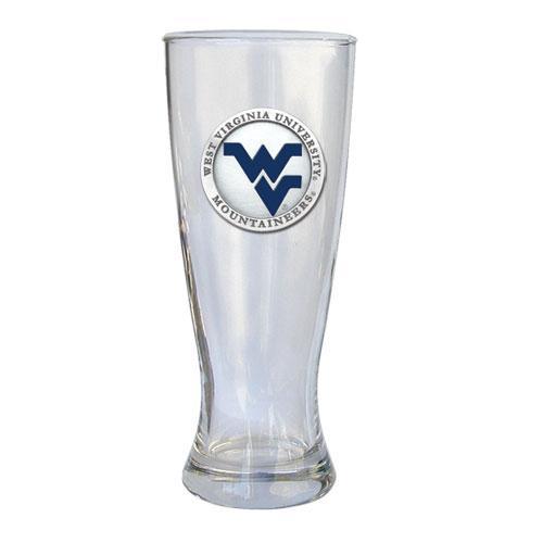 West Virginia Heritage Pewter Pilsner Glass