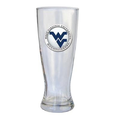 West Virginia Heritage Pewter Pilsner Glass