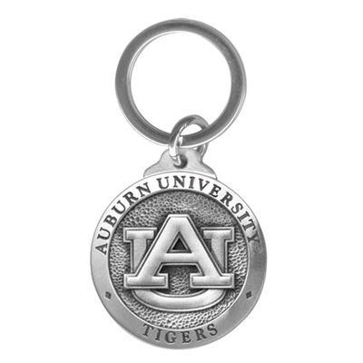 Auburn Heritage Pewter Keychain