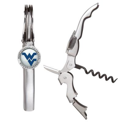 West Virginia Heritage Pewter Corkscrew Wine Tool