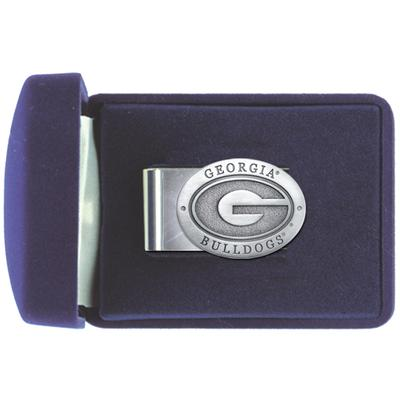 Georgia Heritage Pewter Emblem Money Clip