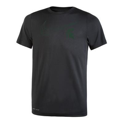 Michigan State Nike Youth Basketball Swoosh Legend S/S Tee BLACK