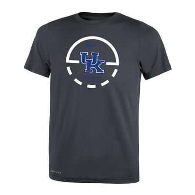 Kentucky Nike Boys' Court Logo Legend Tee