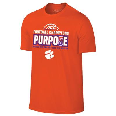 Clemson 2019 ACC Football Conference Champs Tee Shirt