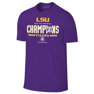 LSU 2019 SEC Conference Football Champions Tee Shirt