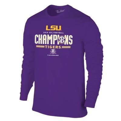 LSU 2019 SEC Conference Football Champions Tee Shirt