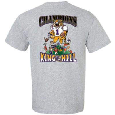 LSU 2019 SEC King Football Champions Tee Shirt