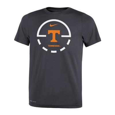 Tennessee Nike Boys' Court Logo Legend Tee