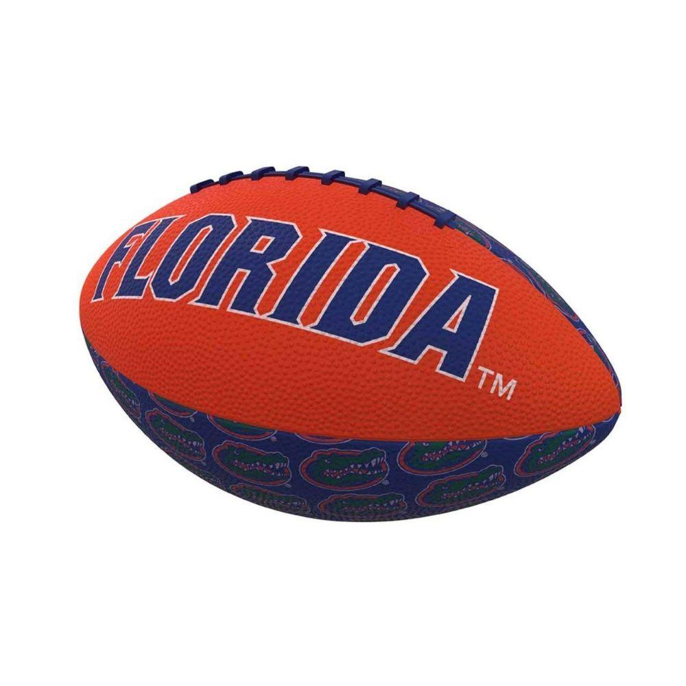 Florida Repeating Logo Mini Rubber Football