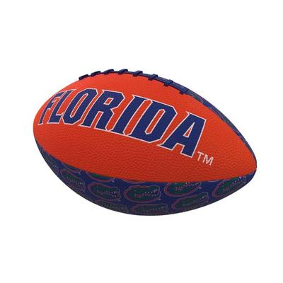 Florida Repeating Logo Mini Rubber Football