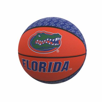 Florida Repeating Logo Mini Rubber Basketball