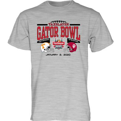 2020 Tennessee vs Indiana Gator Bowl Short Sleeve Tee