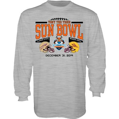 2019 Florida State vs Arizona State Sun Bowl Long Sleeve Tee