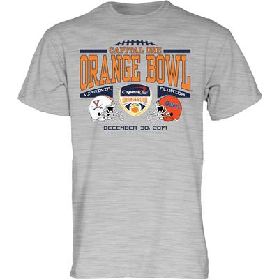 2020 Florida vs Virginia Orange Bowl Short Sleeve Tee