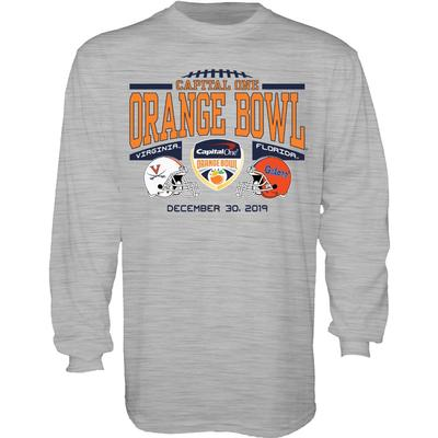 2019 Florida vs Virginia Orange Bowl Long Sleeve Tee