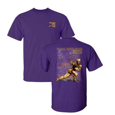 LSU Heisman Tiger Short Sleeve Tee Shirt