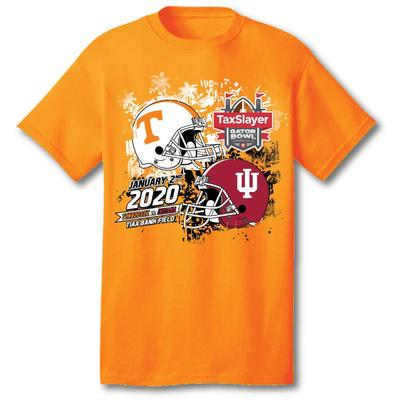 Tennessee Youth 2020 Tennessee vs Indiana TaxSlayer Gator Bowl Tee Shirt