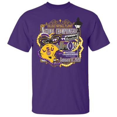LSU Tigers 2020 National Championship Bound Tee