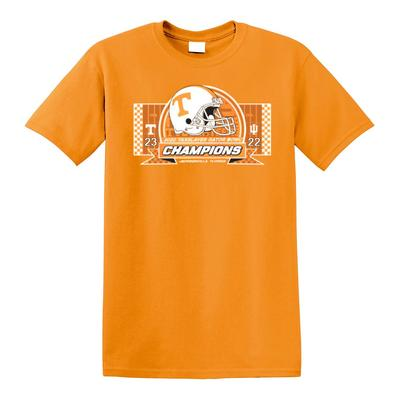 Tennessee Vols 2020 Gator Bowl Champions YOUTH Short Sleeve Tee