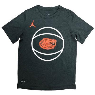 Florida Kids Jordan Brand Dri-Fit Legend Basketball Tee