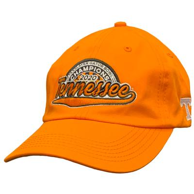 Tennessee Vols 2020 Gator Bowl Champions Adjustable Hat