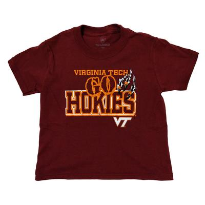 Virginia Tech Youth Hokiebird Shred T-Shirt