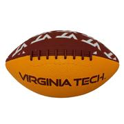 Virginia Tech Mini Size Rubber Football