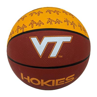 Virginia Tech Mini Size Rubber Basketball