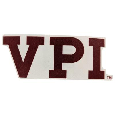 Virginia Tech VPI Vault Logo Decal