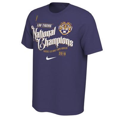 LSU Celebration Nike Short Sleeve Tee