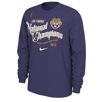 LSU Celebration Nike Long Sleeve Tee
