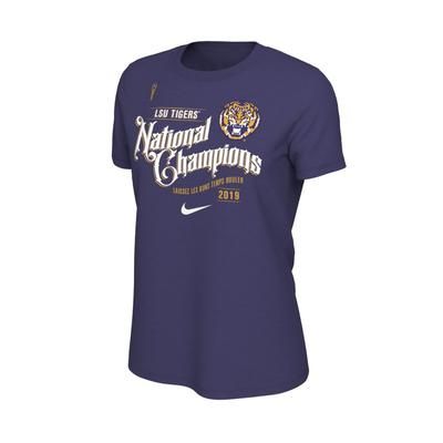 LSU Celebration Nike Women's Short Sleeve Tee