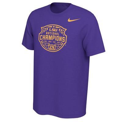 LSU Celebration Mantra Nike Short Sleeve Tee