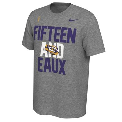LSU National Championship Undefeated Season Nike Short Sleeve Tee