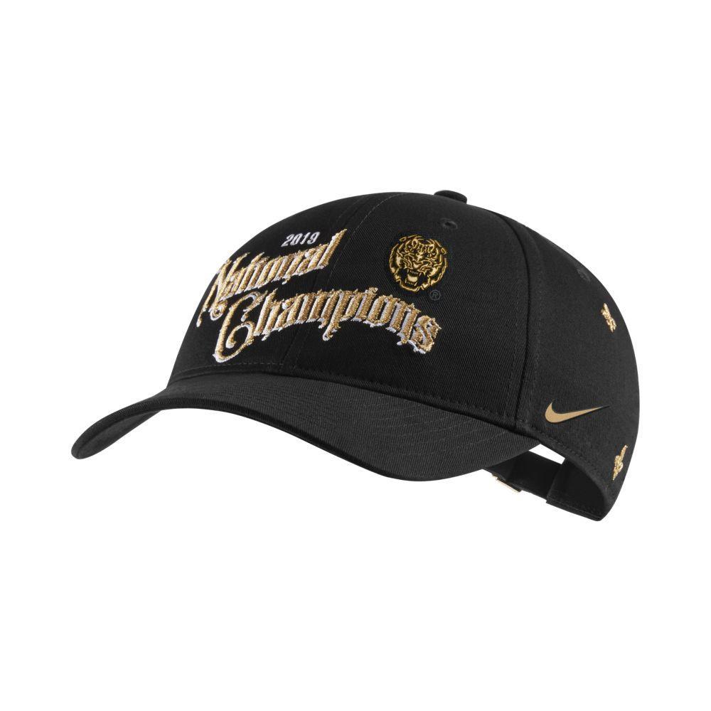 Lsu L91 National Champions Nike Adjustable Hat