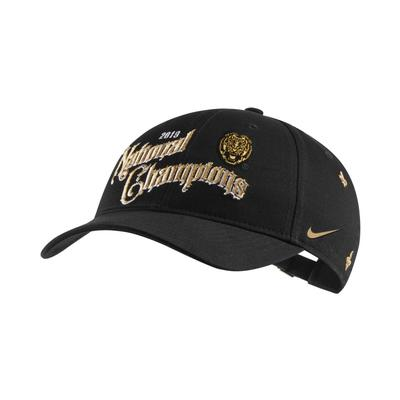 LSU L91 National Champions Nike Adjustable Hat