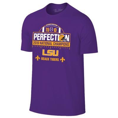 LSU National Champions Perfection Short Sleeve Tee