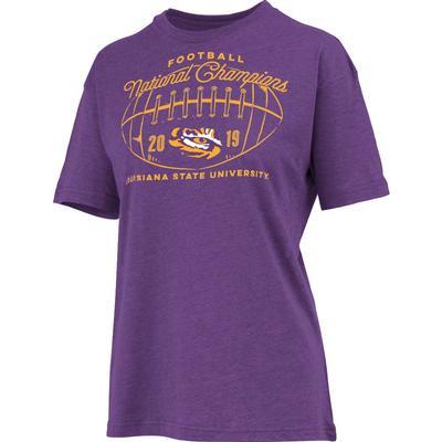 LSU National Champions Anderson Melange Short Sleeve Tee