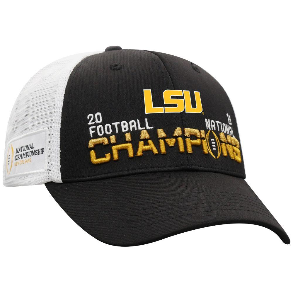 Lsu 2019 National Champions Top Of The World Trucker Hat