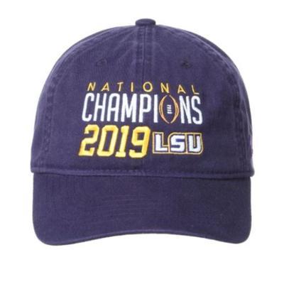 LSU 2019 National Champions Zephyr Adjustable Hat