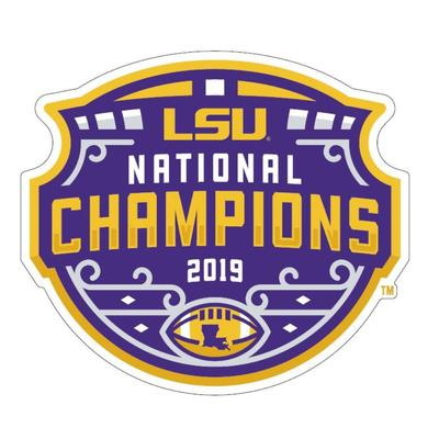 LSU 2019 National Champions 6