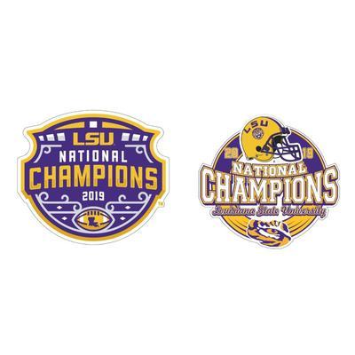 LSU 2019 National Champions 2 Pk 2