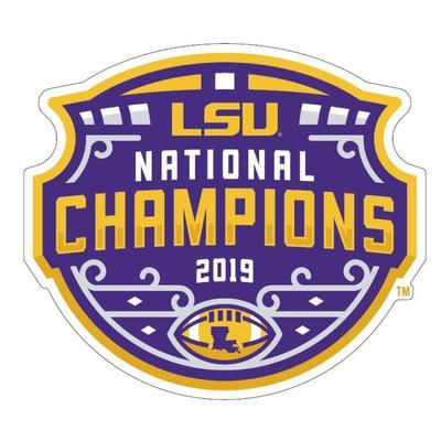 LSU 2019 National Champions 6