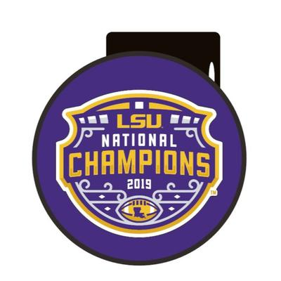 LSU 2019 National Champions Domed Hitch Cover