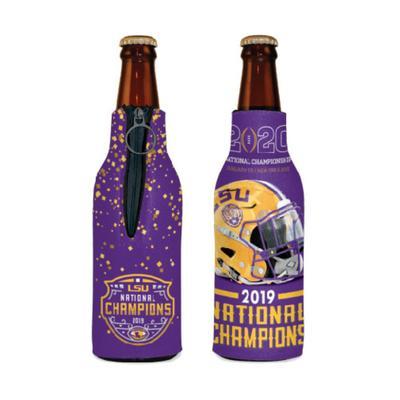 LSU 2019 National Champions Bottle Koozie