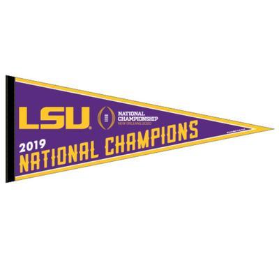 LSU 2019 National Champions Pennant